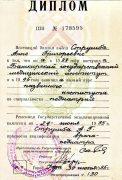MD / Pediatrician Diploma (1995)