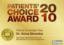 Patients' Choice Award (2010)