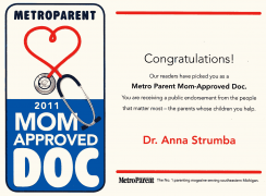Metro Parent Mom-Approved Doc Award (2011)
