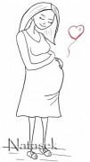 Pregnant. Artwork by natasek.blogspot.com (CC BY-NC-ND 3.0)