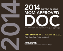 Metro Parent Mom-Approved Doc Award (2014)